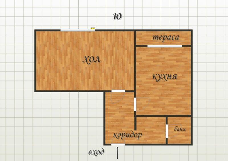 едностаен апартамент 33853